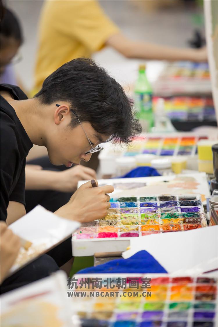 南北朝画室学习环境
